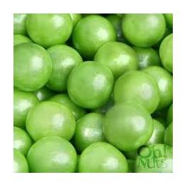 Shimmer Lime Green Gumballs